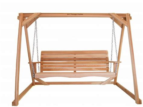 wooden frame swing free woodworking plans porch swing shedbra