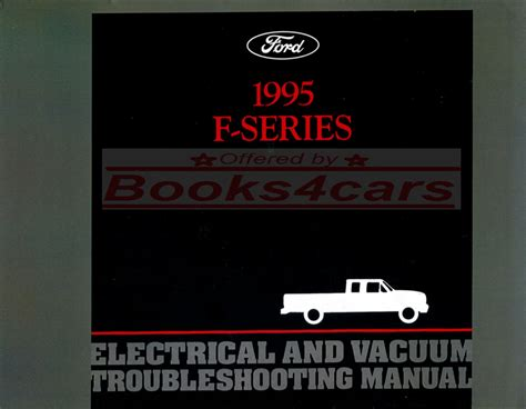 shop manual electrical 1995 truck ford pickup service repair book f150 f250 f350 ebay
