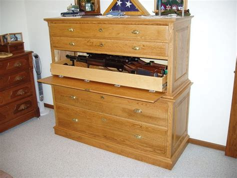 hidden gun cabinet furniture gun cabinet disguised as a dresser gun cabinet