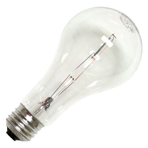 200 watt light bulb ge 16069 200a cl 1 a21 light bulb elightbulbs com