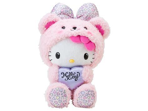 Word Blocks Home Decor by Hello Kitty Plush Doll Bear Heart Leopard Pink Sanrio