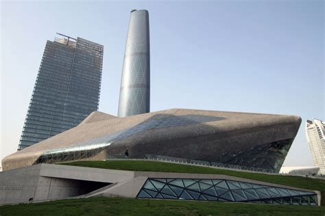 Guangzhou Opera House by Guangzhou Opera House Opened 187 Chinalert
