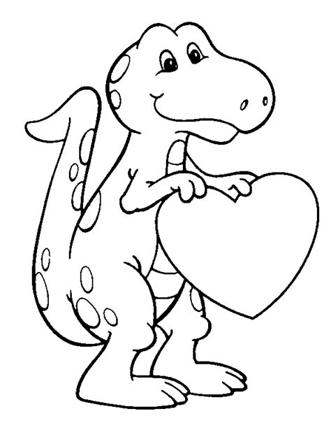 valentine coloring page for toddlers free printable dinosaur crafts free printable valentines