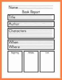 Book Report Examples 9th Grade 8 1st Grade Book Report Invoice Example 2017
