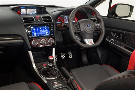 subaru 2016 interior 2016 subaru wrx sti on sale in australia from 38 990