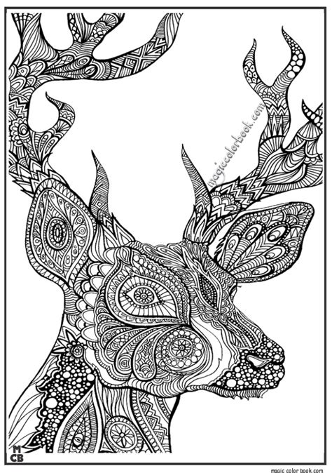 Coloring Pages Animals Patterns | adults patterns coloring pages 05