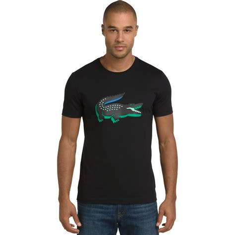 Kaos Big Graphic 04 lyst lacoste 3d rubber crocodile graphic t shirt in green for