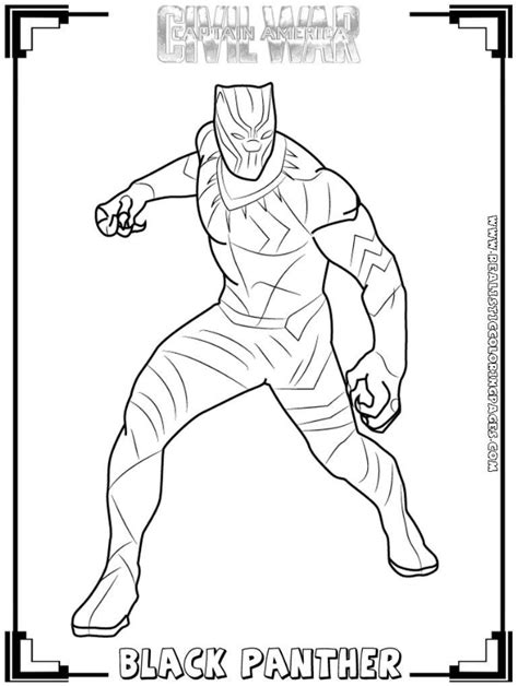 black panther coloring book pin by crafty annabelle on black panther printables in