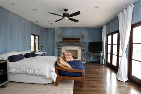 blue rustic bedroom rustic window treatments bedroom rustic with bedding bench