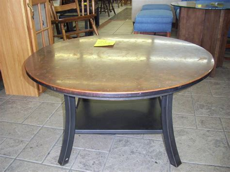 round copper table top copper round coffee table coffee table design ideas