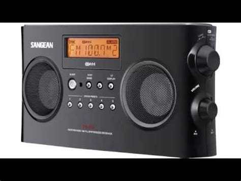 top  portable amfm radios review  youtube