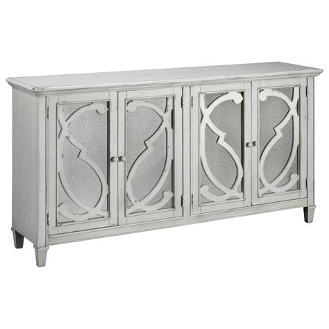 accent cabinets with doors signature design by ashley mirimyn t505 562 door accent