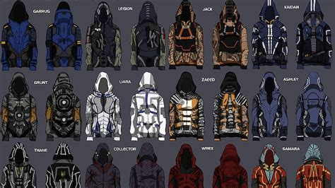 jacket design games these mass effect hoodies make video game clothing finally