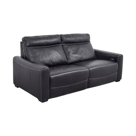 80 macy s macy s black leather reclining sofa sofas