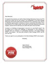 Thank You Letter To Parents From Pto Fundraiser Forms Amp Letters Pto Today