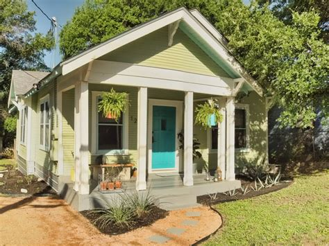Modern Shotgun House by East Austin Bungalow Traditional Exterior Other