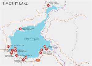 map of oregon cgrounds timothy lake parks cgrounds pge