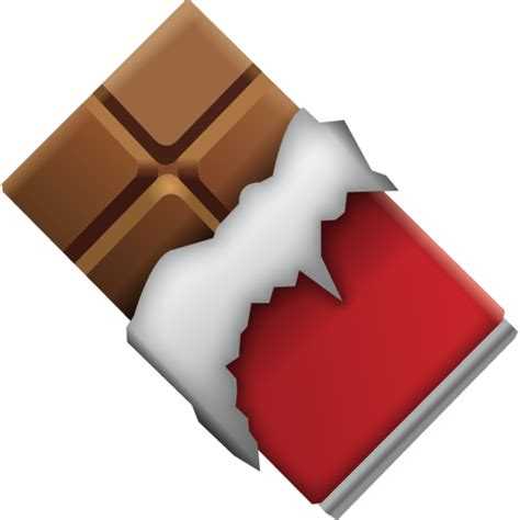 Download Chocolate Bar Emoji Icon Emoji Island