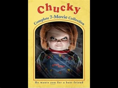 Film Ro3b Chucky Complet | chucky complete 7 movie collection unboxing youtube