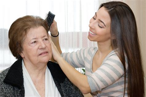 Small Home Care For Elderly You Considered Small Things Like Doing S Hair