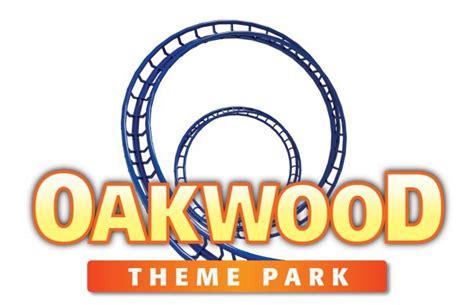 theme park logos file oakwoodthemeparklogo jpg roller coaster wiki