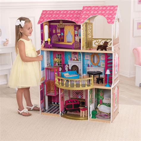 dollhouse kidkraft kidkraft belmont manor dollhouse 65856 dollhouses