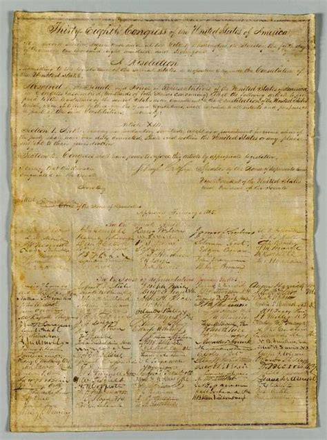 the final section of the constitution 13th amendment