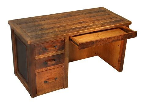 Barnwood Desks by Reclaimed Rustic Woodworks