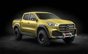 Up Mercedes Mercedes X Class Up Concept Revealed Will Be