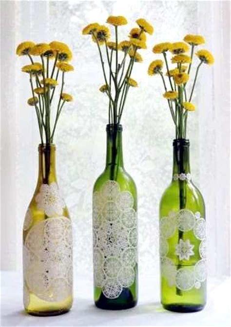 cara membuat kerajinan vas bunga kerajinan tangan cara membuat kerajinan tangan dari botol