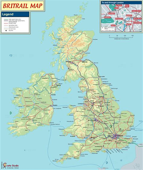 Search In Great Britain Great Britain Rail Map Images