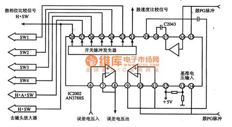 pulse integration circuit an3788s switch pulse generating integrated circuit signal processing circuit diagram