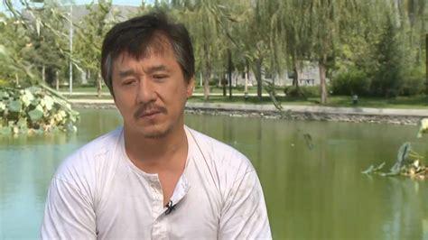 jackie chan karate kid jackie chan interview the karate kid youtube