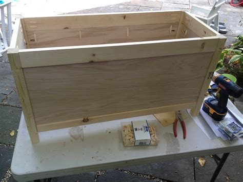 diy simple toy box  lid jaime costiglio