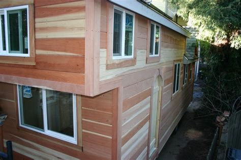 largest tiny house molecule builds another spacious tiny home on a trailer