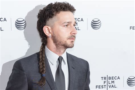 in defense of shia labeouf s new hairstyle vanity fair