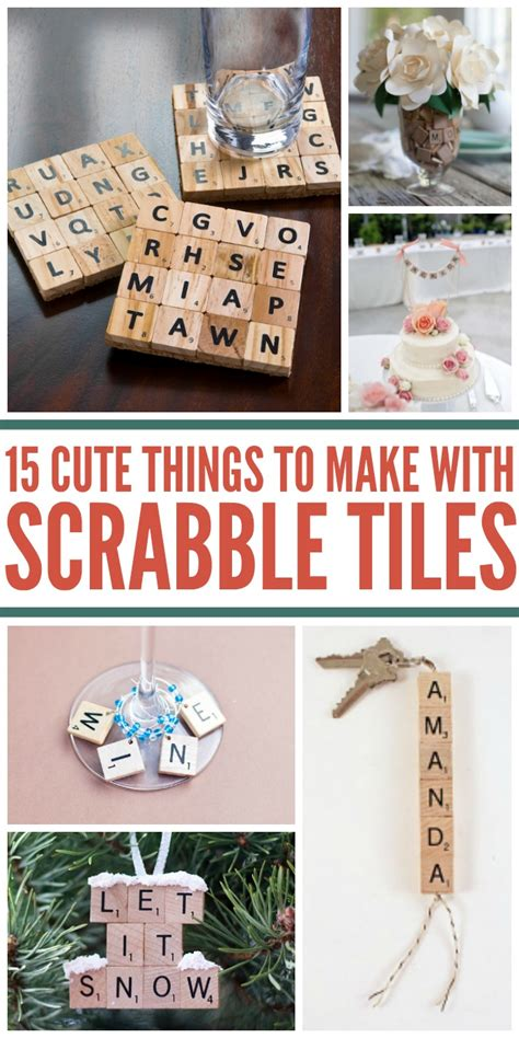 15 Awesome Uses For Scrabble Tiles Besides The