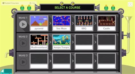 mario maker design ideas will you be able to design world maps in mario maker