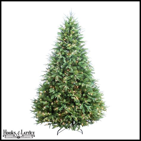 9 ft christmas tree faux trees hooks and lattice