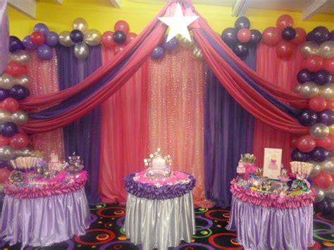 decoracion de cumpleanos  cortinas