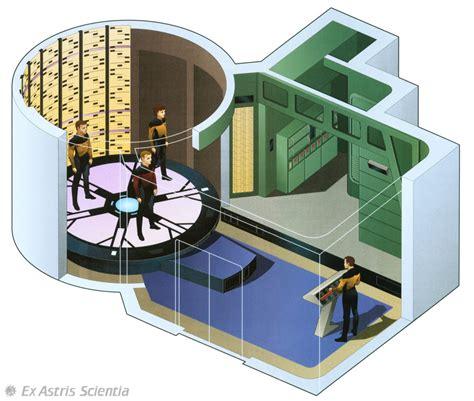Transporter Room by Ex Astris Scientia Galleries Enterprise D Interiors