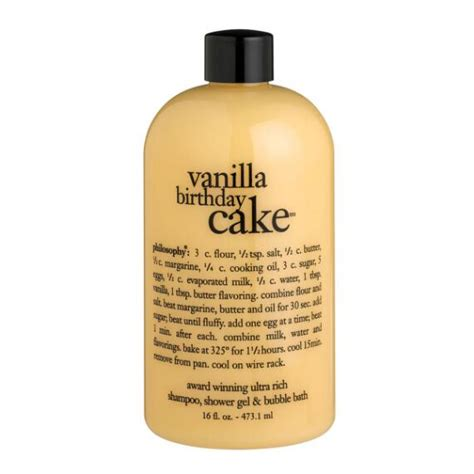 Philosophy Detox Shower Gel by Philosophy Vanilla Birthday Cake Shoo Shower Gel