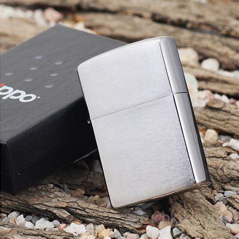 Zippo Korek Api Ori Usa genuine zippo brushed chrome made in usa