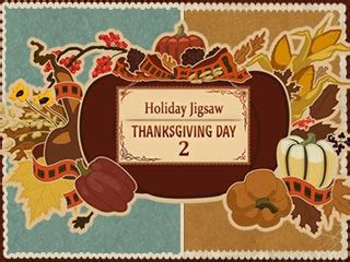 free printable thanksgiving jigsaw puzzles holiday jigsaw thanksgiving day 2 game free download
