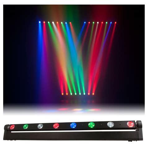adj american dj sweeper beam led moving light bar pssl
