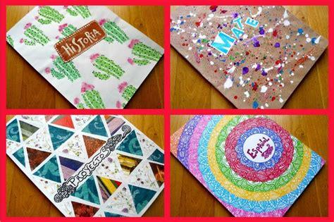 decorar cuadernos diy decora tus cuadernos diy regreso a clases manualidades