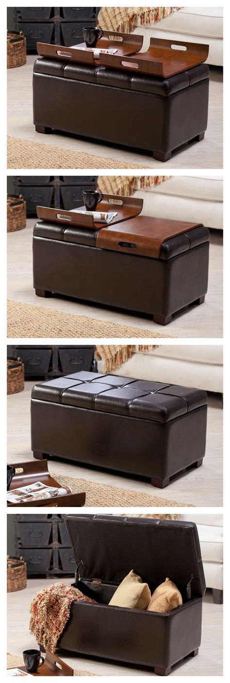 livingston storage ottoman with tray tables 1000 ideas about tray tables on pinterest hay tray