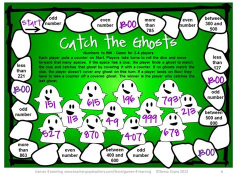 printable math board games for grade 6 420 best math board games images on pinterest math