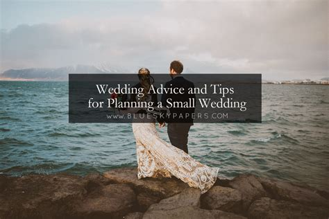 Planning A Small Wedding by Wedding Advice And Tips For Planning A Small Wedding Of
