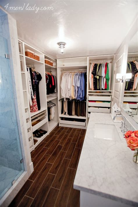 Bathroom And Closet Combo by Master Bathroom And Closet Reveal